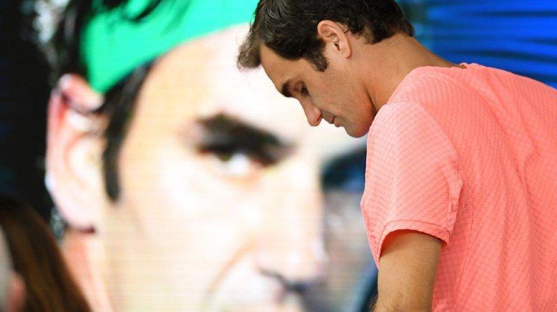 """Open d'Australie: grand favori, Roger Federer se méfie de Marin Cilic: """"C'est un gagneur"""""""