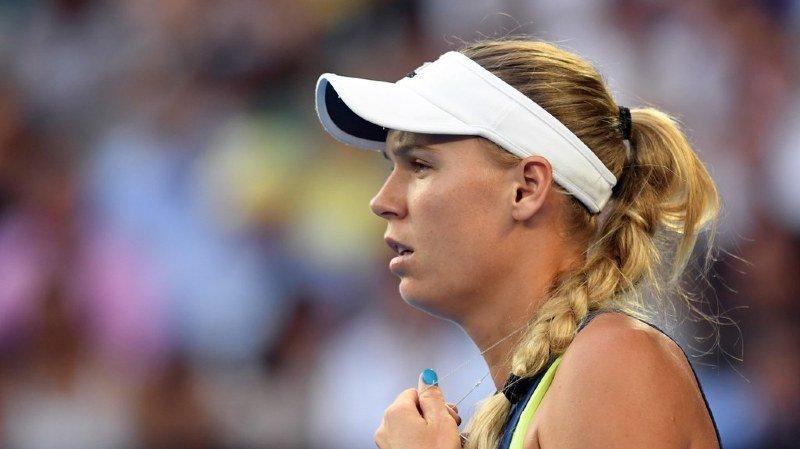 Caroline Wozniacki a cueilli le premier titre de sa carrière dans un tournoi du Grand Chelem.