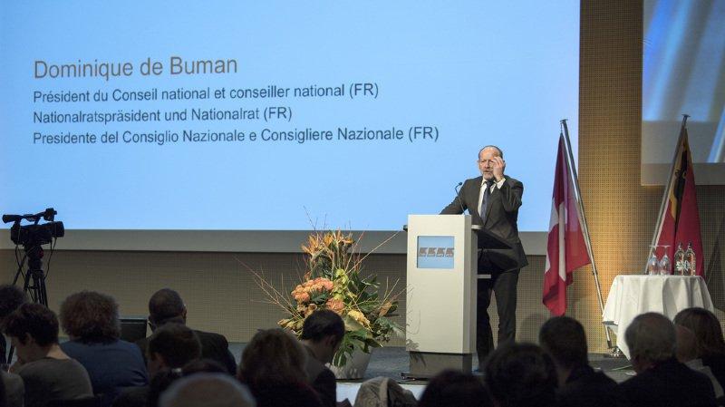 L'initiative menace la cohésion nationale, a déclaré le président du conseil national Dominique de Buman avant d'alerter contre une destruction de la SSR.