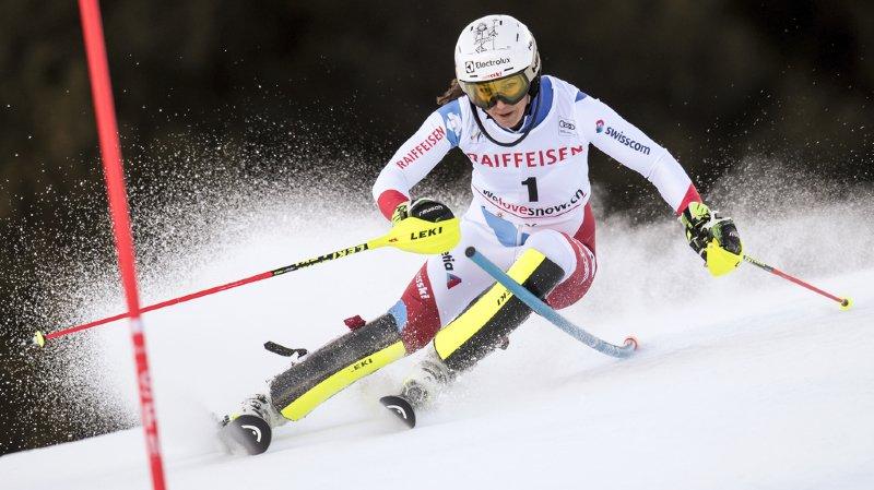 Ski alpin: Wendy Holdener 2e du slalom de Lenzerheide à l'issue de la 1ère manche