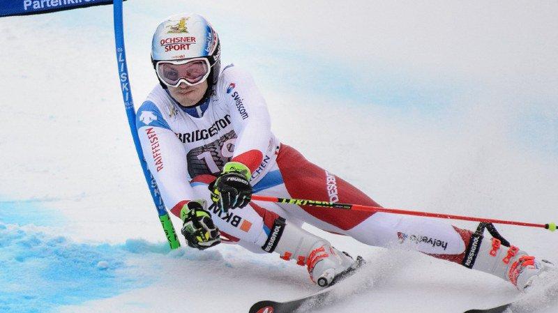 Ski alpin: Loïc Meillard termine 10e du géant de Garmisch, remporté par Hirscher