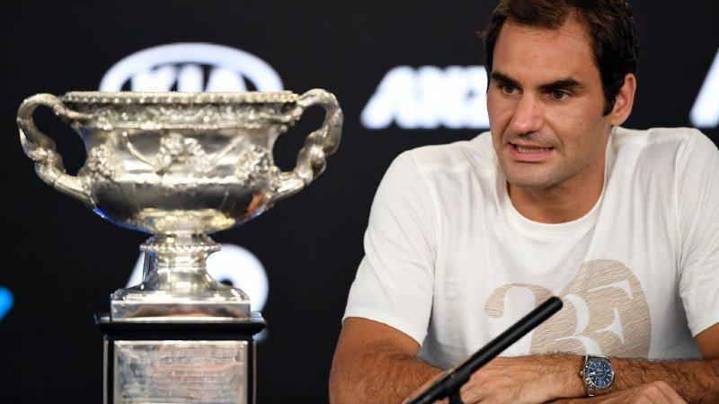 """Open d'Australie: """"C'était serré... très serré"""", a réagi Roger Federer après son sacre"""