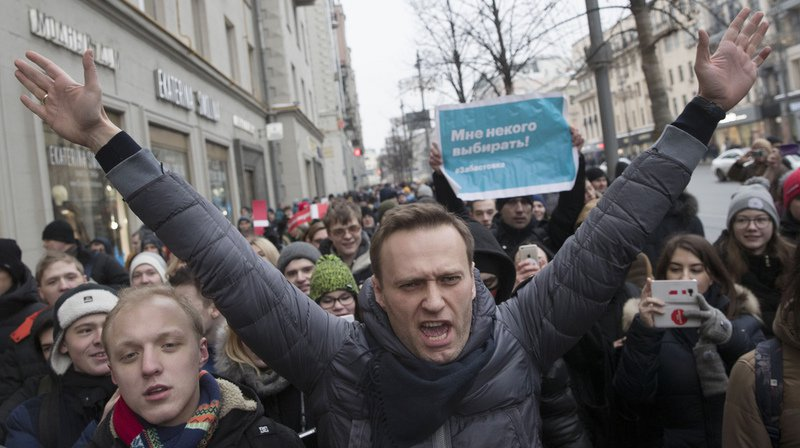 À Moscou, près de 4000 personnes étaient rassemblées au centre-ville.