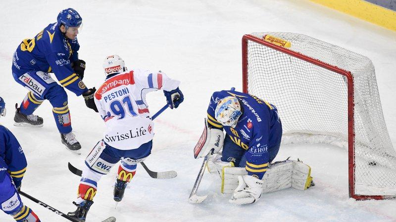 Hockey - National League: les Zurich Lions s'inclinent 1-2 face au HC Davos