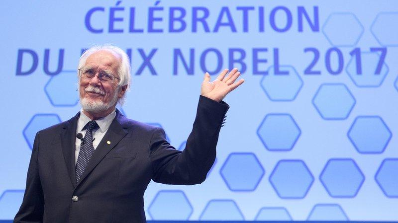 Près de 1000 personnes pour célébrer le prix Nobel Jacques Dubochet à Lausanne