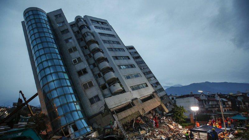 Taïwan: le bilan du séisme grimpe à 9 morts et 8 disparus