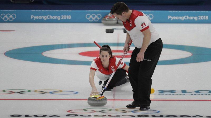 Le Canada l'emporte sur la Chine — Curling mixte