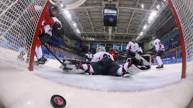 JO 2018 - Hockey sur glace dames: Alina Müller et la Suisse sans pitié pour la Corée