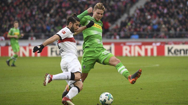 Football: l'international suisse Elvedi seulement légèrement blessé