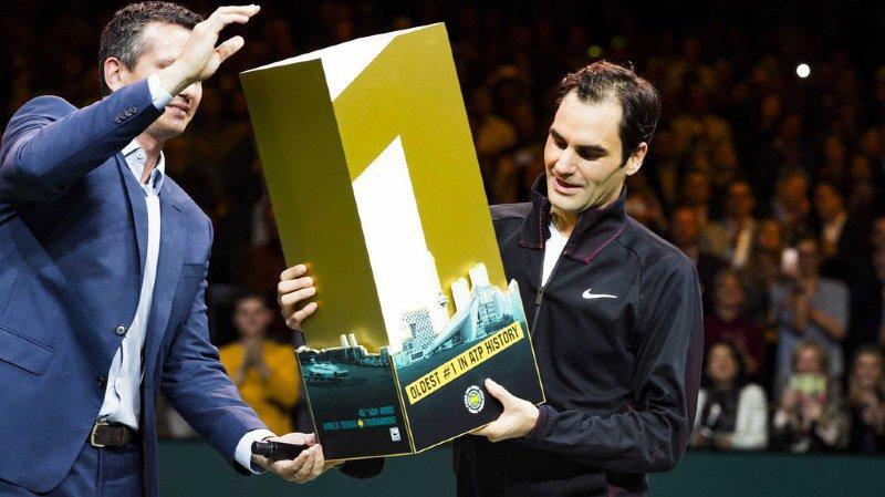 Tennis: retour sur les 4 grands moments où Federer est devenu numéro 1 mondial