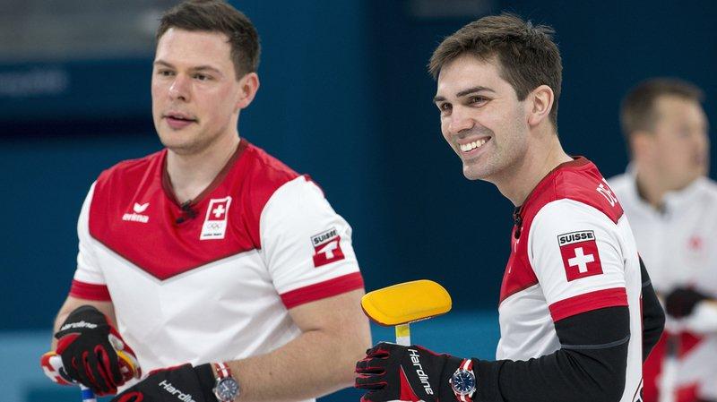 JO 2018: curling - la Suisse domine la Suède 10 à 3