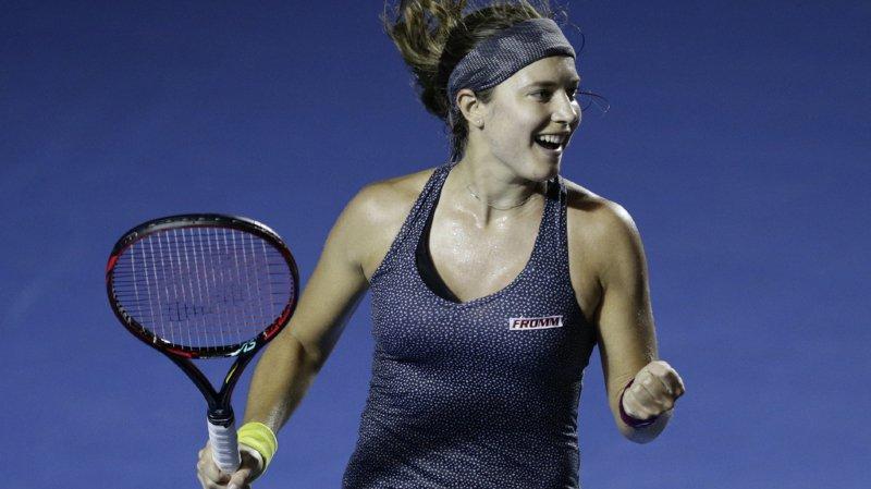 Tennis: une première finale sur le circuit WTA pour Stefanie Vögele à Acapulco