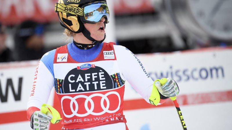 """Ski alpin: Lara Gut, après sa déception à Crans-Montana: """"La saison commence à être longue"""""""