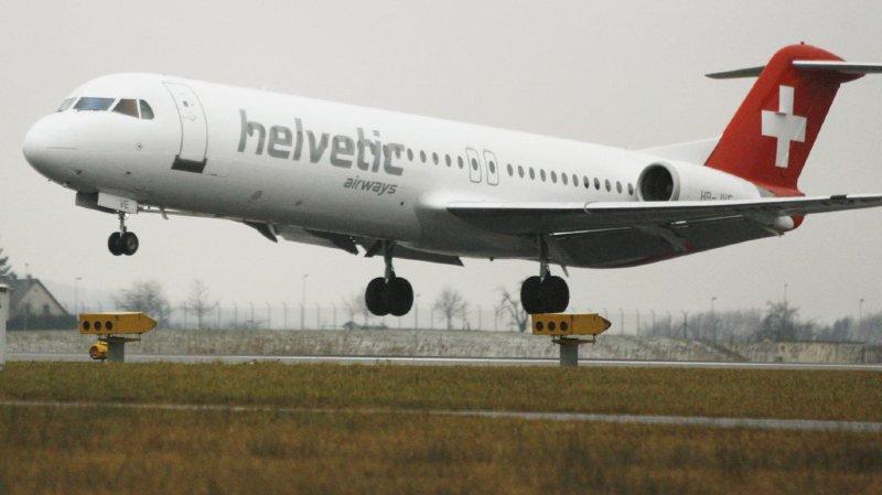 Un butin d'environ 38 millions d'euros avait été dérobé dans un avion d'Helvetic Airways.