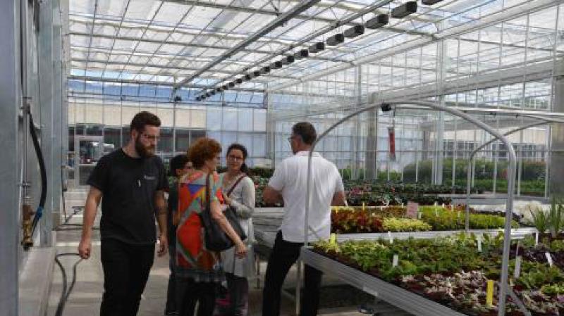 L'amélioration des serres du Centre de formation professionnelle nature et environnement est un atout pour la formation des jeunes.