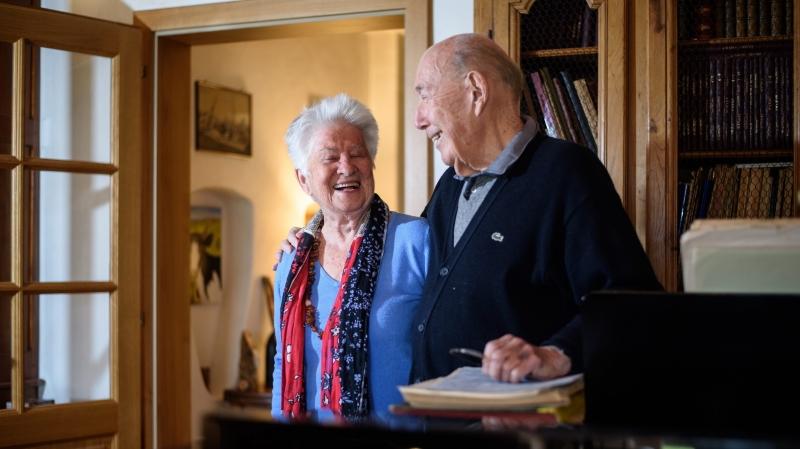Liliane et Pierre Kister se sont rencontrés en 1956 dans un dancing genevois.
