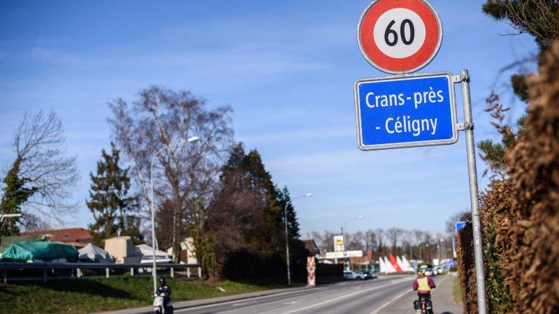 Les travaux pris en charge par la commune de Crans concernent un tronçon de presque 300mètres.
