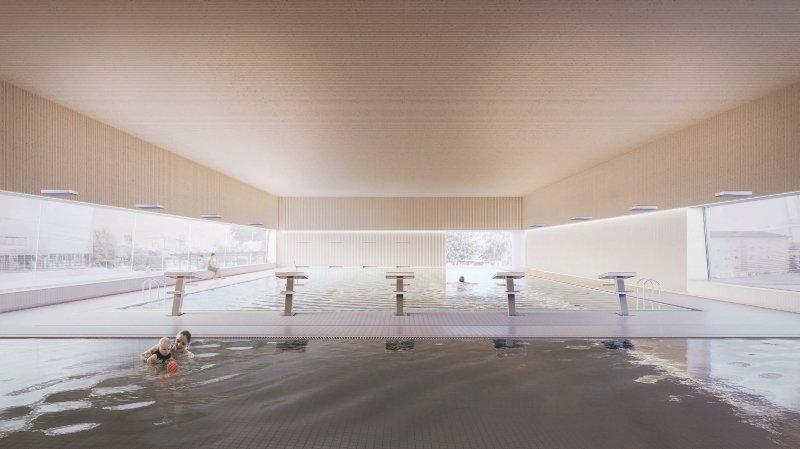 Dernière ligne droite pour une piscine couverte à Saint-Prex