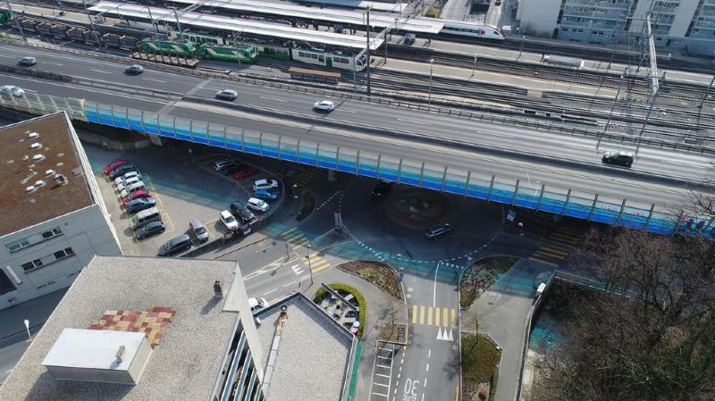L'accident a eu lieu jeudi soir en gare de Morges