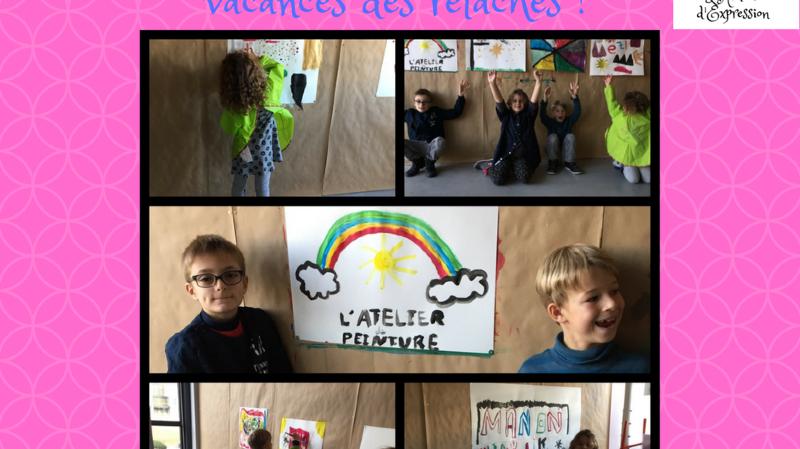 Ateliers de peinture pour enfants