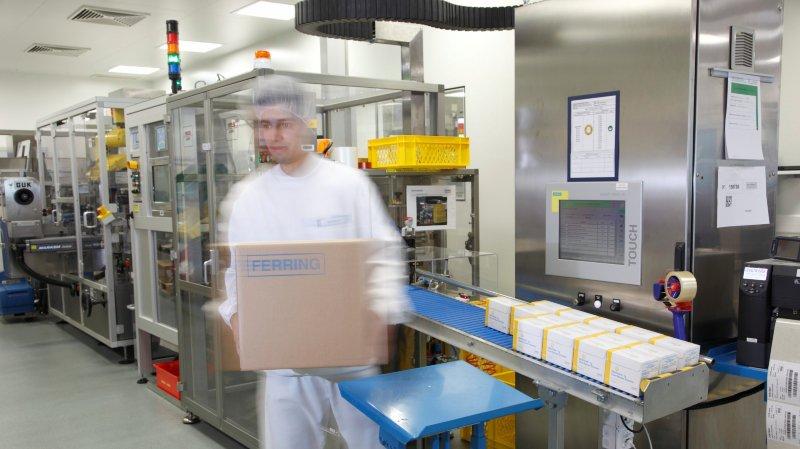 L'actuelle unité de conditionnement des médicaments en milieu stérile, avec ses équipements sophistiqués sur le site de Saint-Prex sera renforcée par une seconde halle: mise en service planifiée pour 2020.