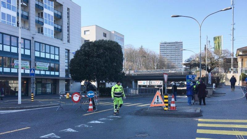 Morges: une femme de 74 ans a été renversée par un automobiliste sous le pont de la gare