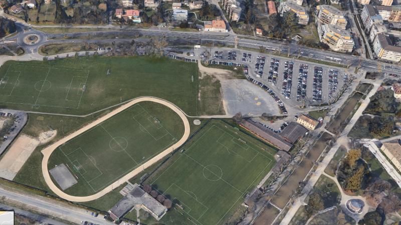 Le centre aquatique est prévu au parc des Sports à Morges