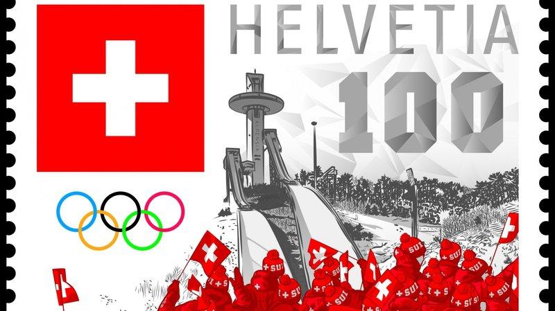 JO 2018: La Poste imprime un timbre spécial pour les Jeux olympiques de PyeongChang