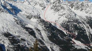Valais: avalanche à Finhaut, deux blessés, pas de victime