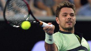 Tennis: Wawrinka passe l'obstacle Klizan en trois sets au 2e tour à Sofia