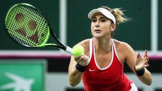 Tennis - Fed Cup: la Suisse menée 2-0