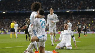 Ligue des champions: le Real Madrid bat le Paris Saint-Germain 3-1
