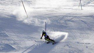 JO 2018: Ski alpin - Wendy Holdener médaillée d'argent du slalom spécial