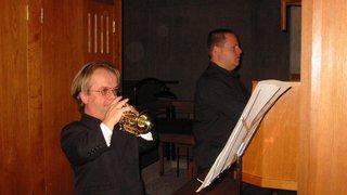 Un duo gagnant de trompette et orgue