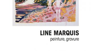 Exposition peinture-gravure, Line Marquis