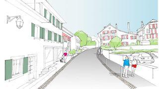 Gimel: 2,5 millions pour rénover la Grand-Rue