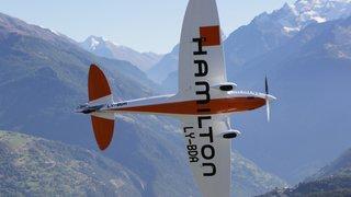 Valais: l'avion du futur se prépare à Sion