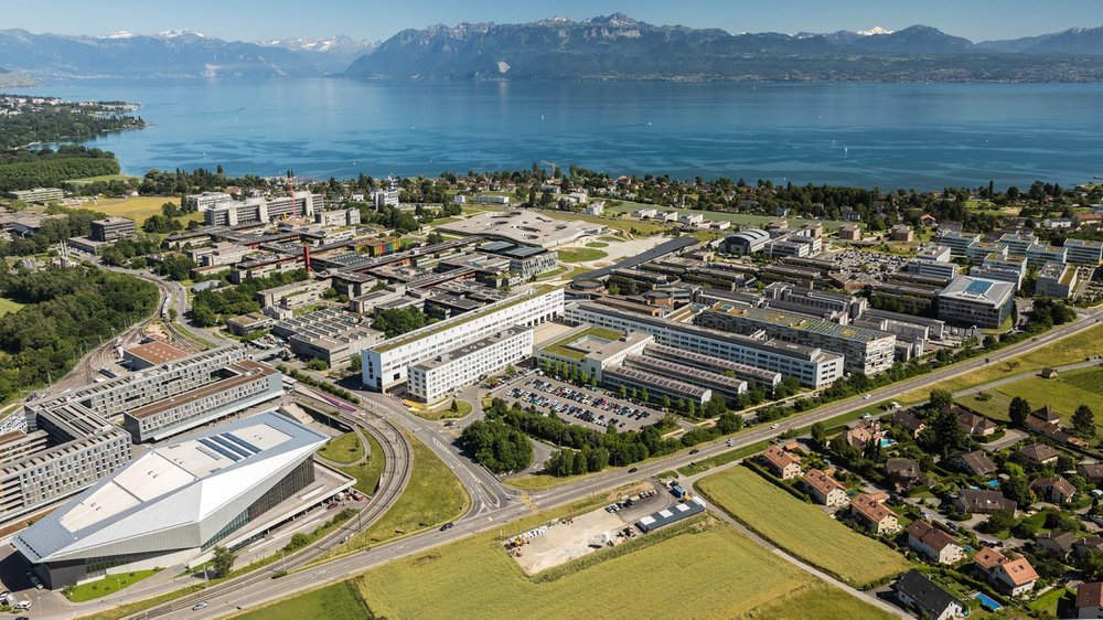 Le site de l'EPFL qui accueillera la RTS en 2023.