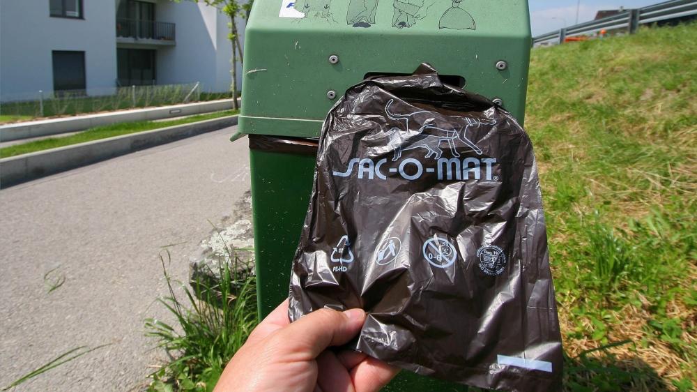 Abandonner la grosse commission de Médor à la rue plutôt que la balancer dans le sac et la poubelle idoine coûtera 150francs.