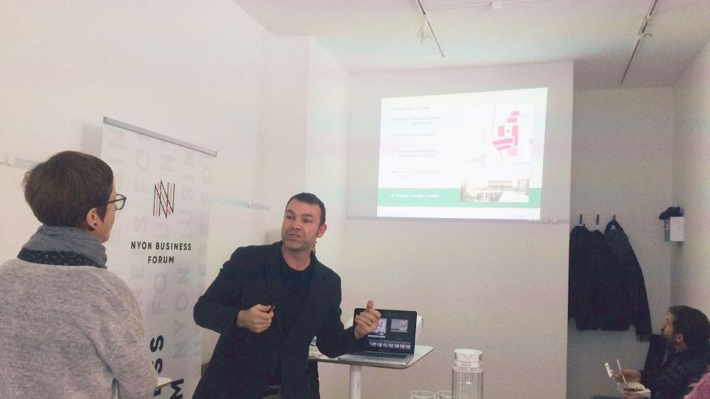 David Prudente avait réalisé en 2007 une analyse urbaine et socio-économique du centre-ville de Nyon pour l'association Usine 21.