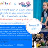 Atelier Rugbytots en duo parent-enfant offert