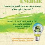 Séniors & Énergie : économies d'énergie chez soi