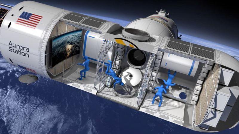 Cet hôtel de luxe attend ses premiers clients dans l'espace