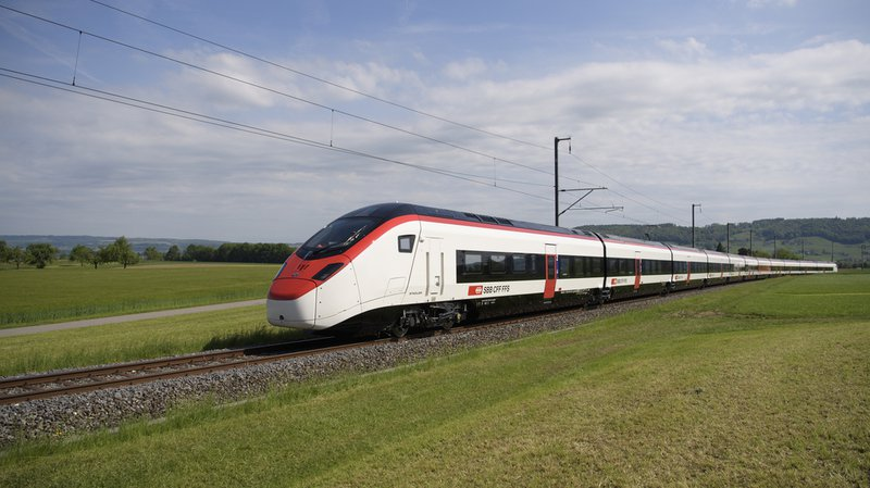 Le Giruno, premier train à grande vitesse pour le Gothard, a passé les tests