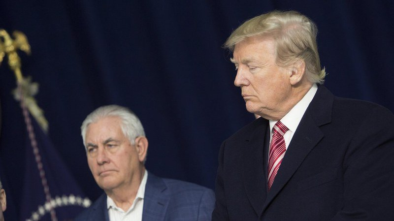 Trump limoge son secrétaire d'Etat Rex Tillerson et le remplace par le patron de la CIA Mike Pompeo