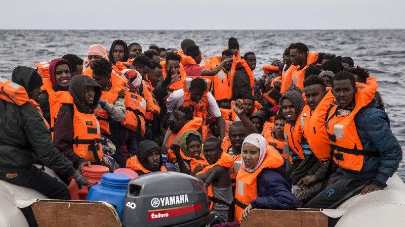 Crise migratoire: 21 Africains disparus dans un naufrage au large de la Libye