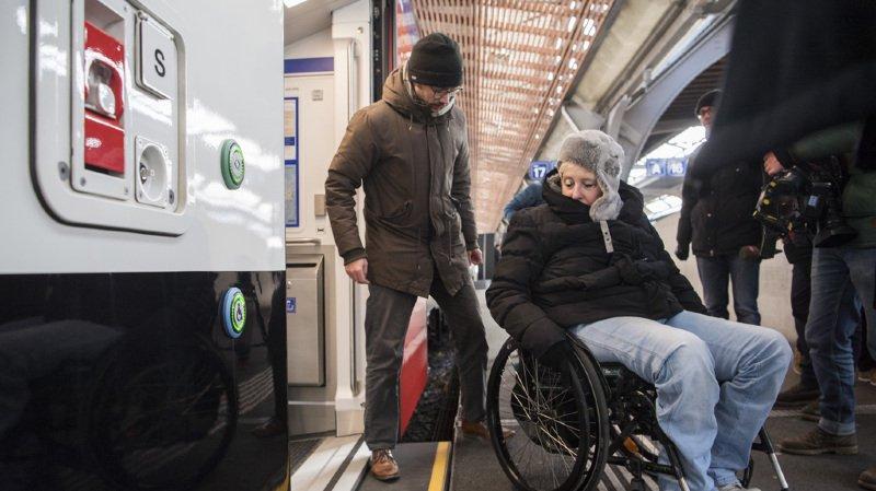Inadaptés au transport des personnes handicapées, les trains à 2 étages peuvent circuler temporairement