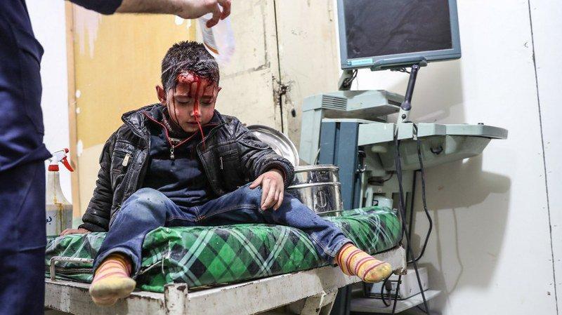 Depuis mi-février, les attaques ont tué plus de 650 civils dans la Ghouta orientale.