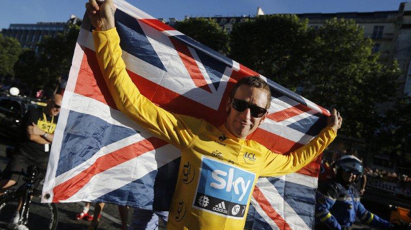 Dopage: Bradley Wiggins, vainqueur du Tour de France 2012, et la Sky, de nouveau mis en cause