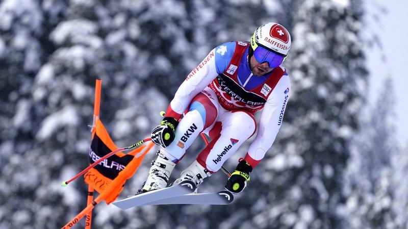Ski alpin: Beat Feuz 2e de la descente de Kvitfjell, battu comme à Kitzbühel par l'Allemand Dressen